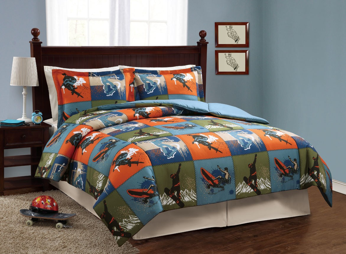 Image of: Toddler Boy Bedding Twin Bed