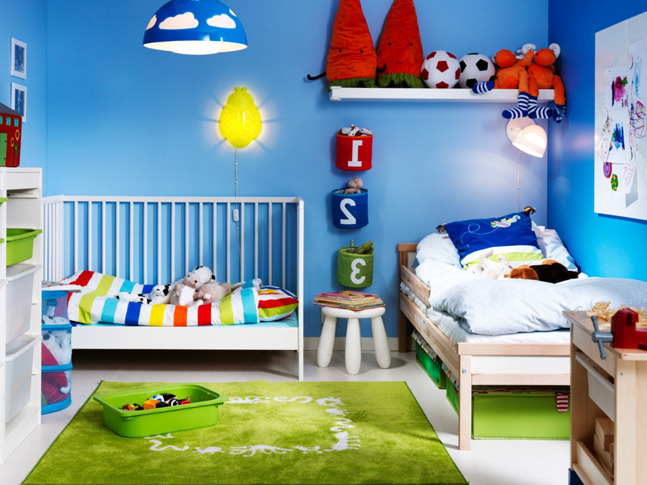 Image of: Toddler Boy Room Ideas