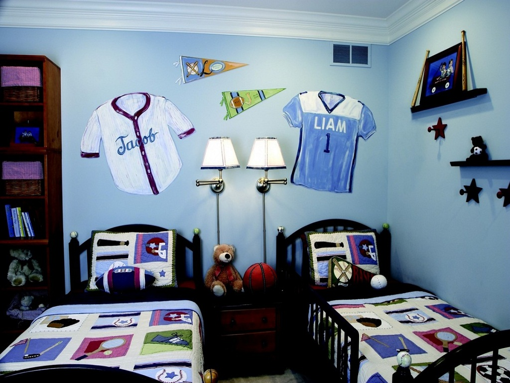 Image of: Toddler Boys Bedroom Decoration Ideas