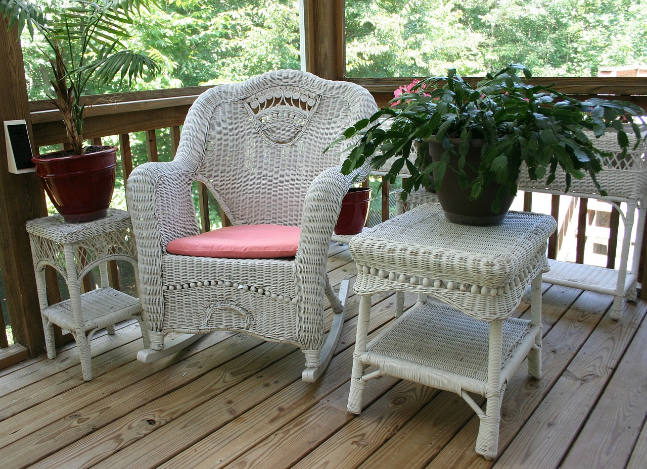 Top Outdoor Wicker Rocking Chairs