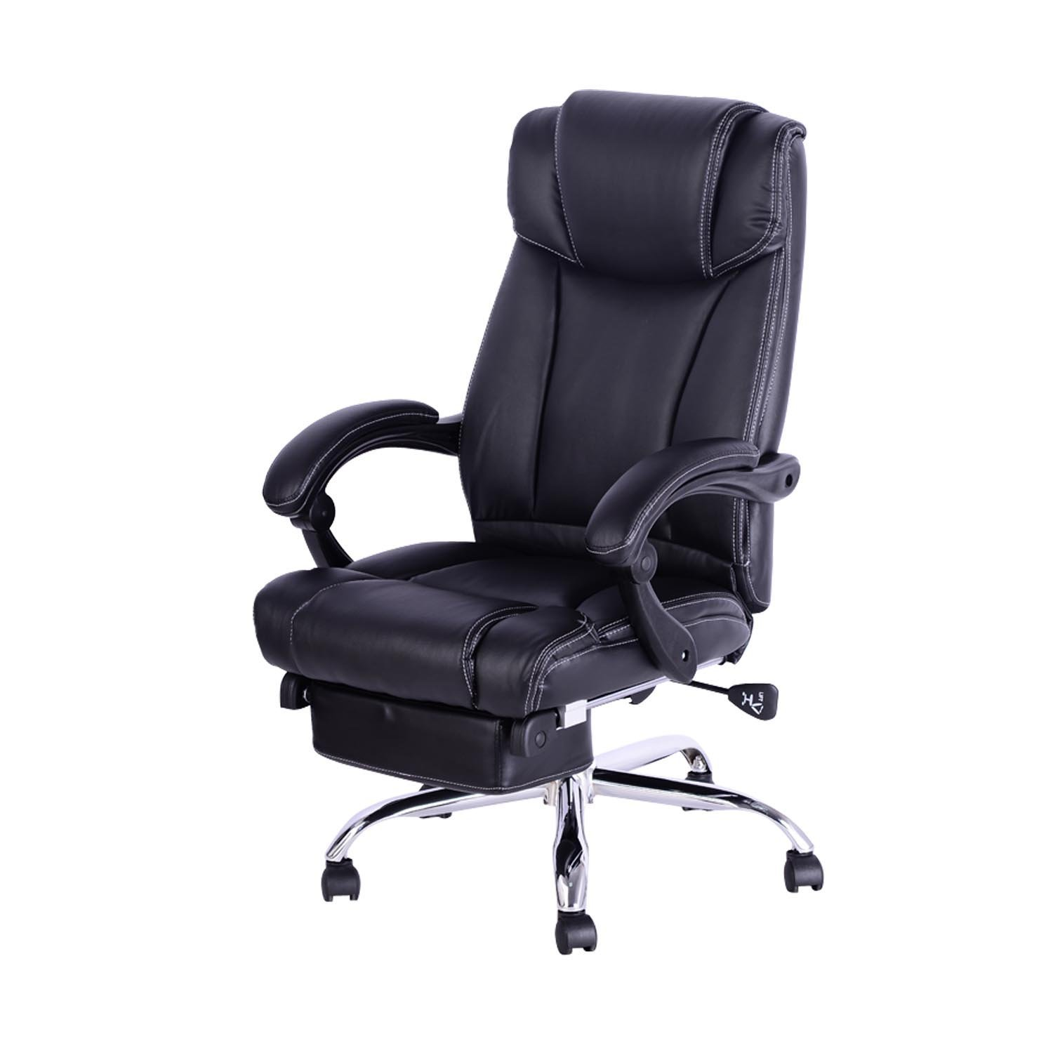 Image of: Top Reclining Office Chair With Footrest