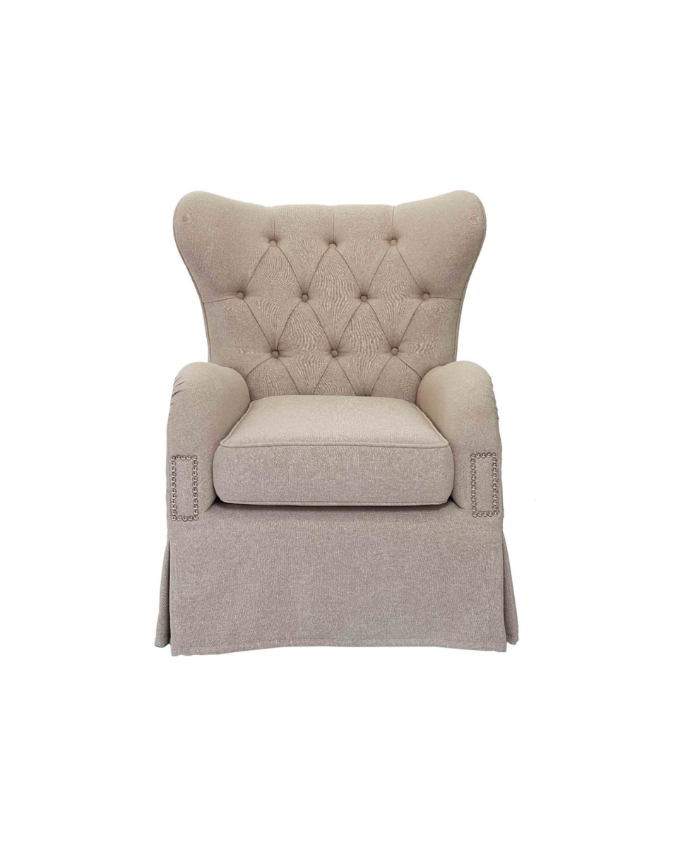 Image of: Top Tufted Accent Chair