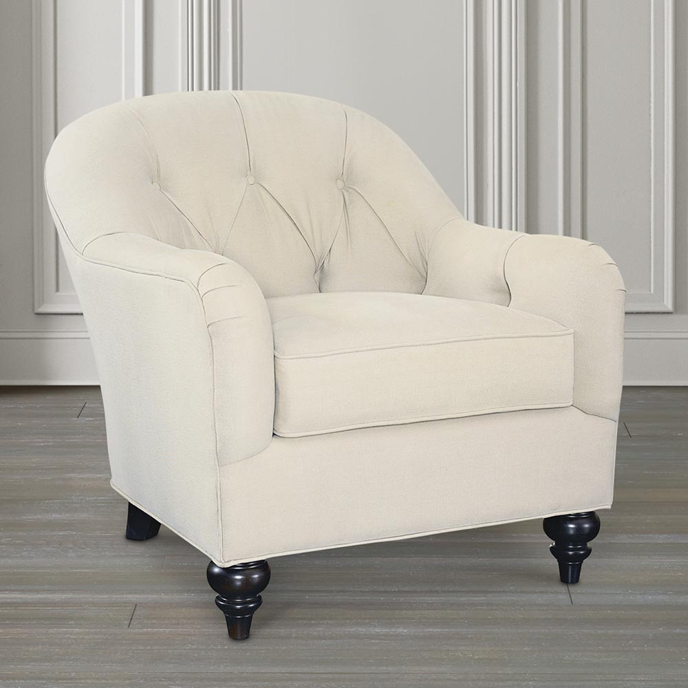 Image of: Tufted Accent Chair Image
