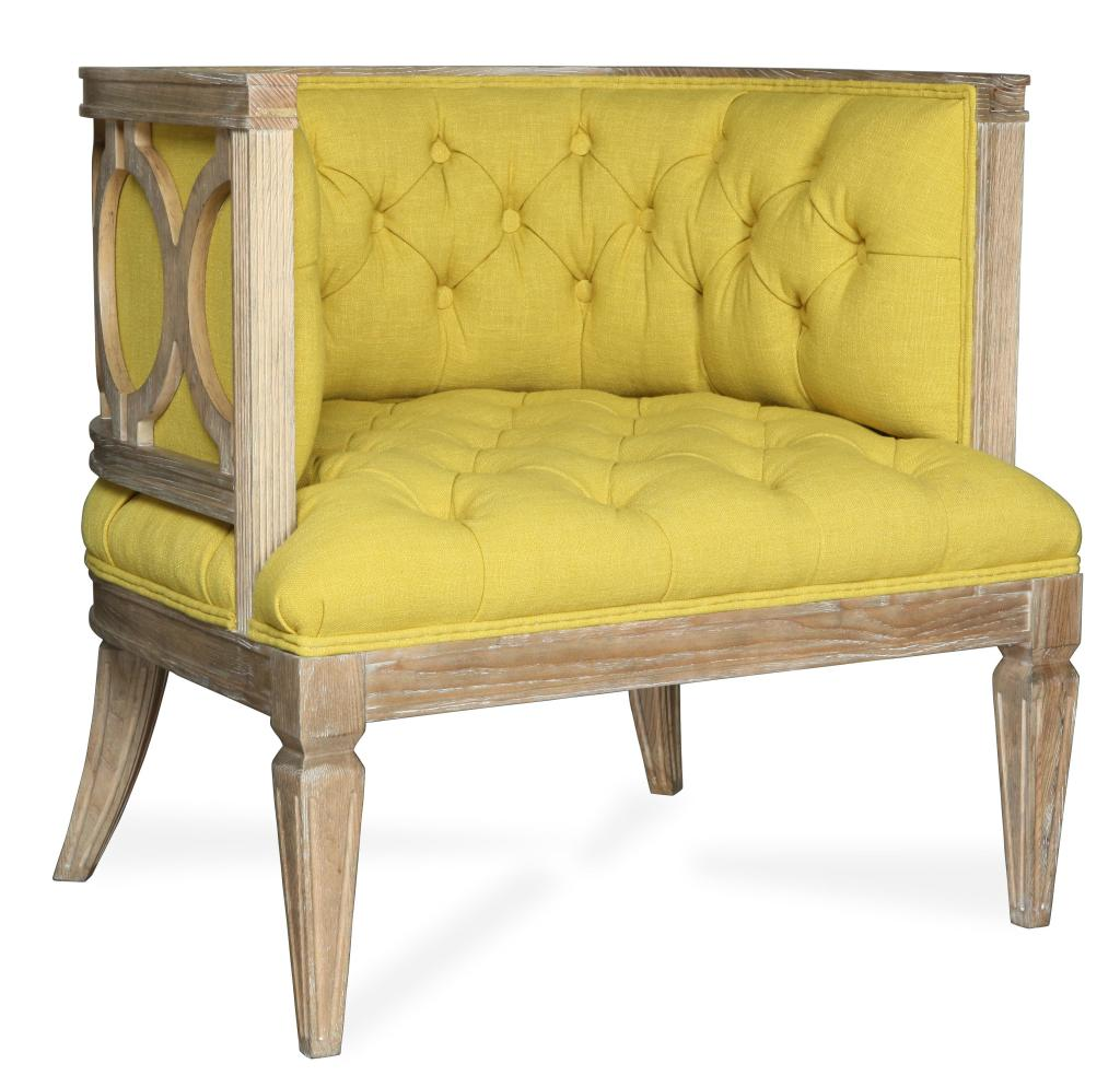 Image of: Tufted Accent Chair Model
