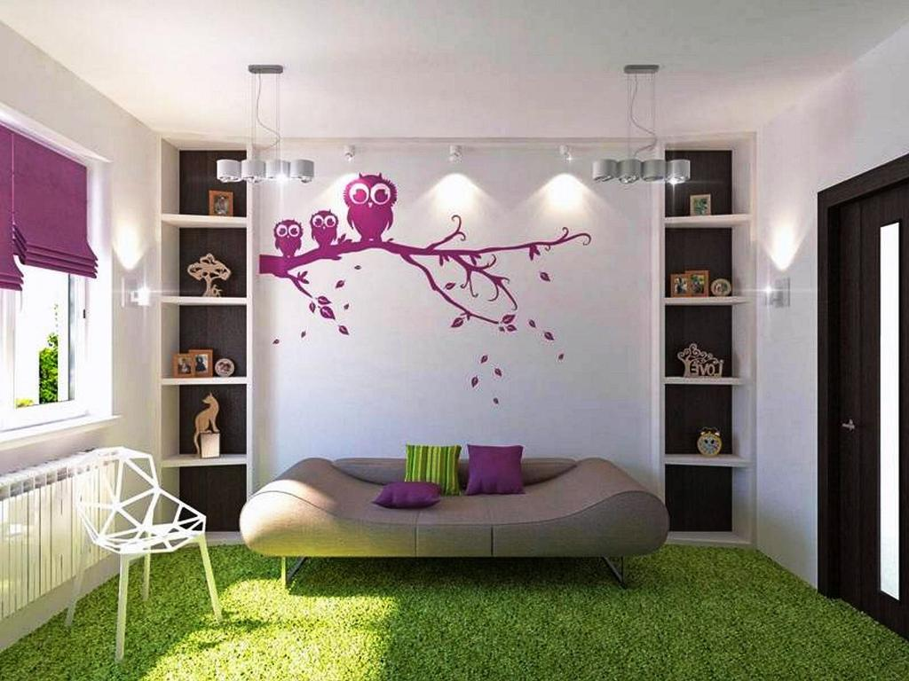 Image of: Tween Girl Bedroom Ideas Purple