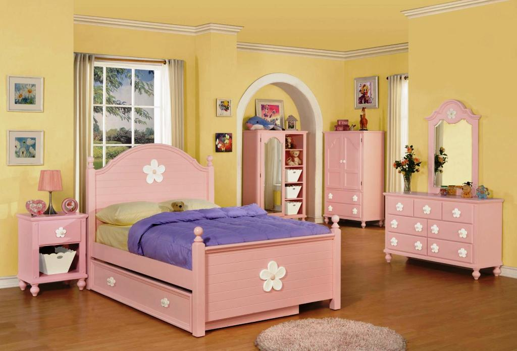 Image of: Twin Bedroom Sets For Girls