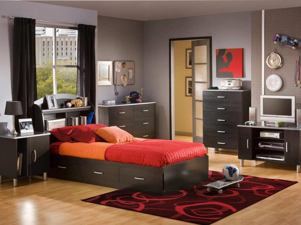 Image of: Twin Boys Bedroom Sets