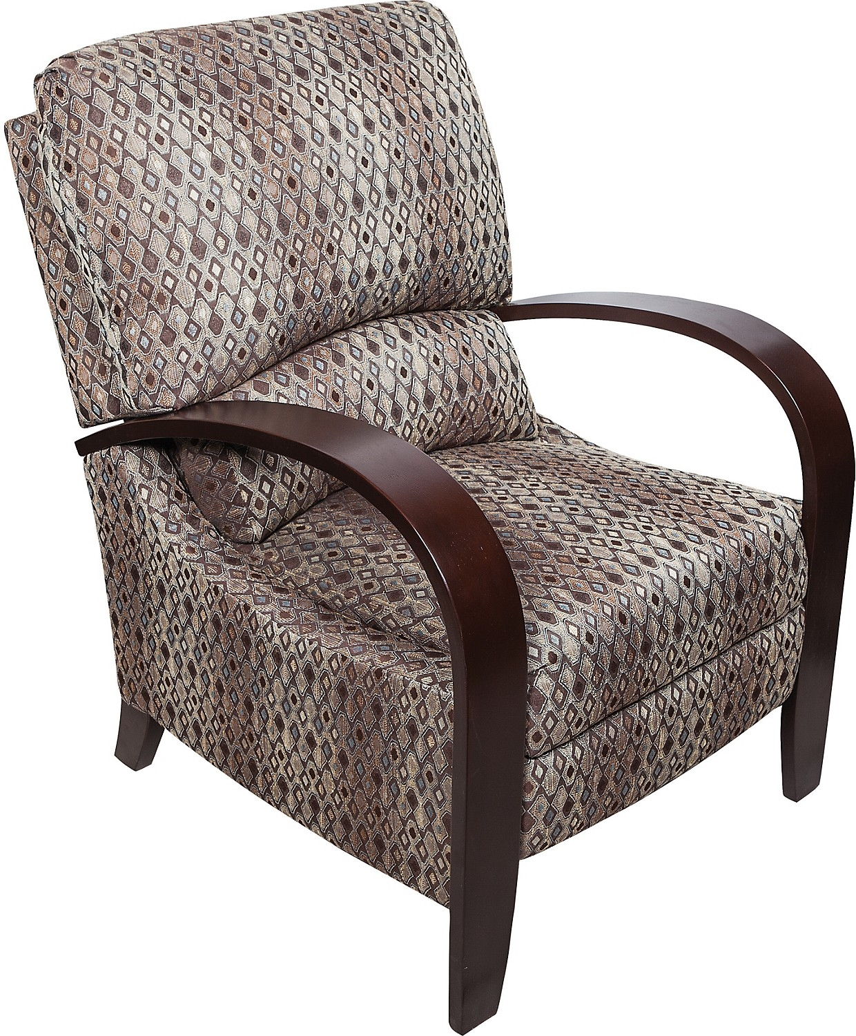 Image of: Unique Reclining Accent Chair