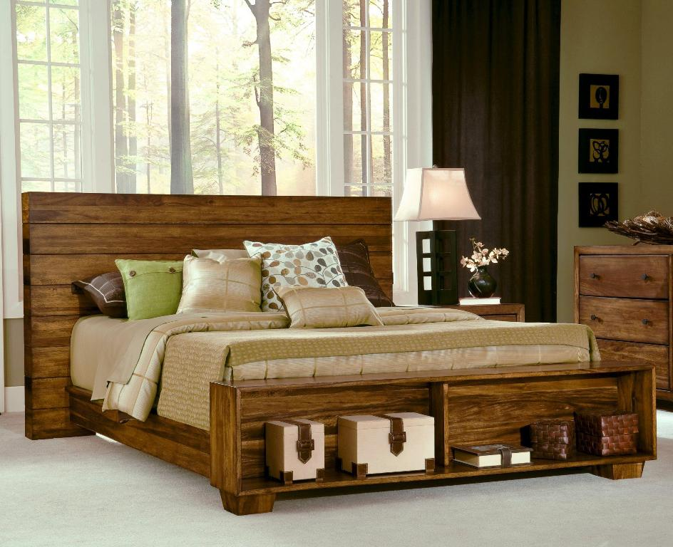 Image of: Unique Rustic Bedroom Sets King