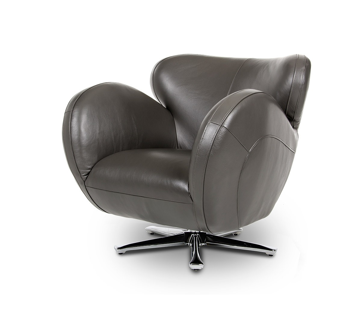 Image of: Unique Swivel Lounge Chair