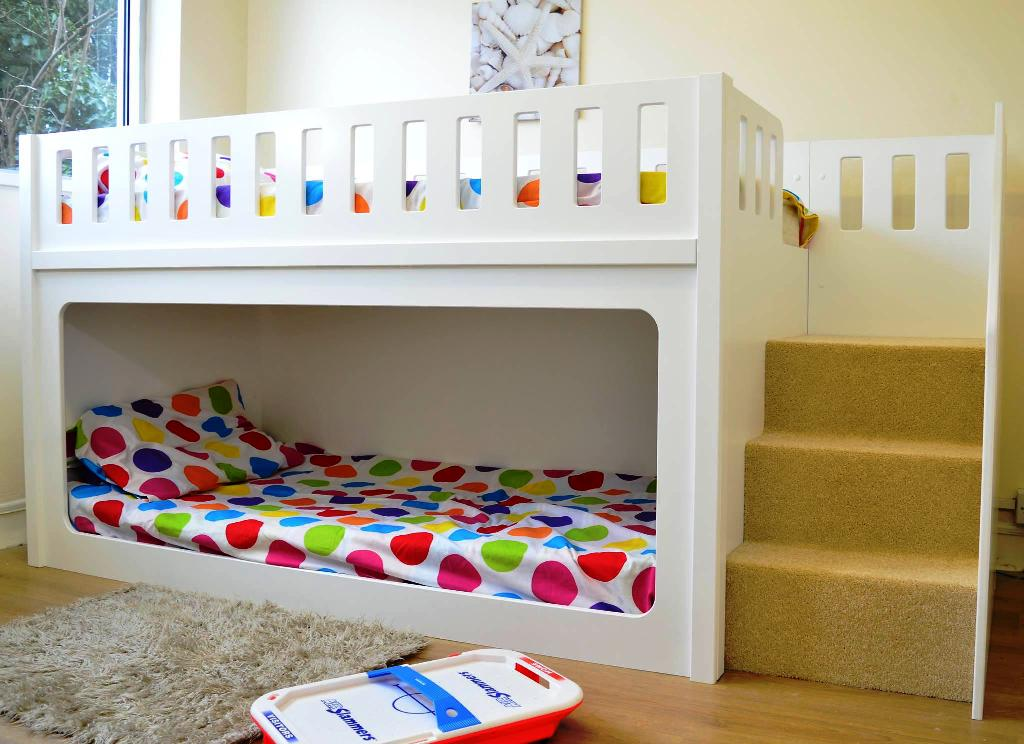 Image of: Unique Toddler Bunk Bed