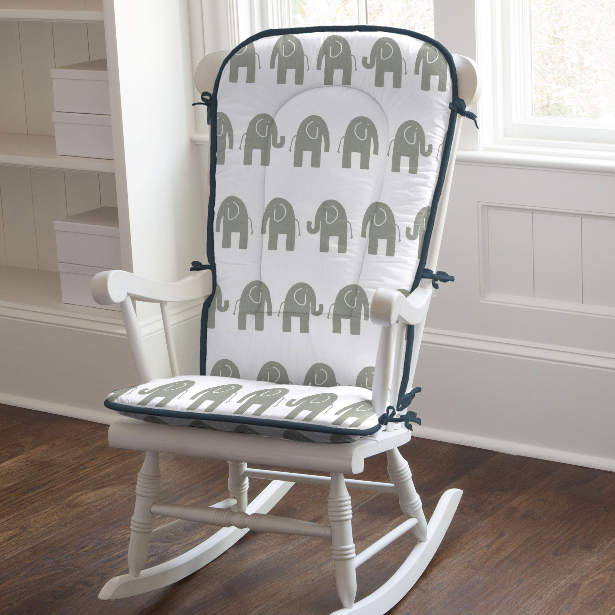Image of: Upholstered Rocking Chairs Design