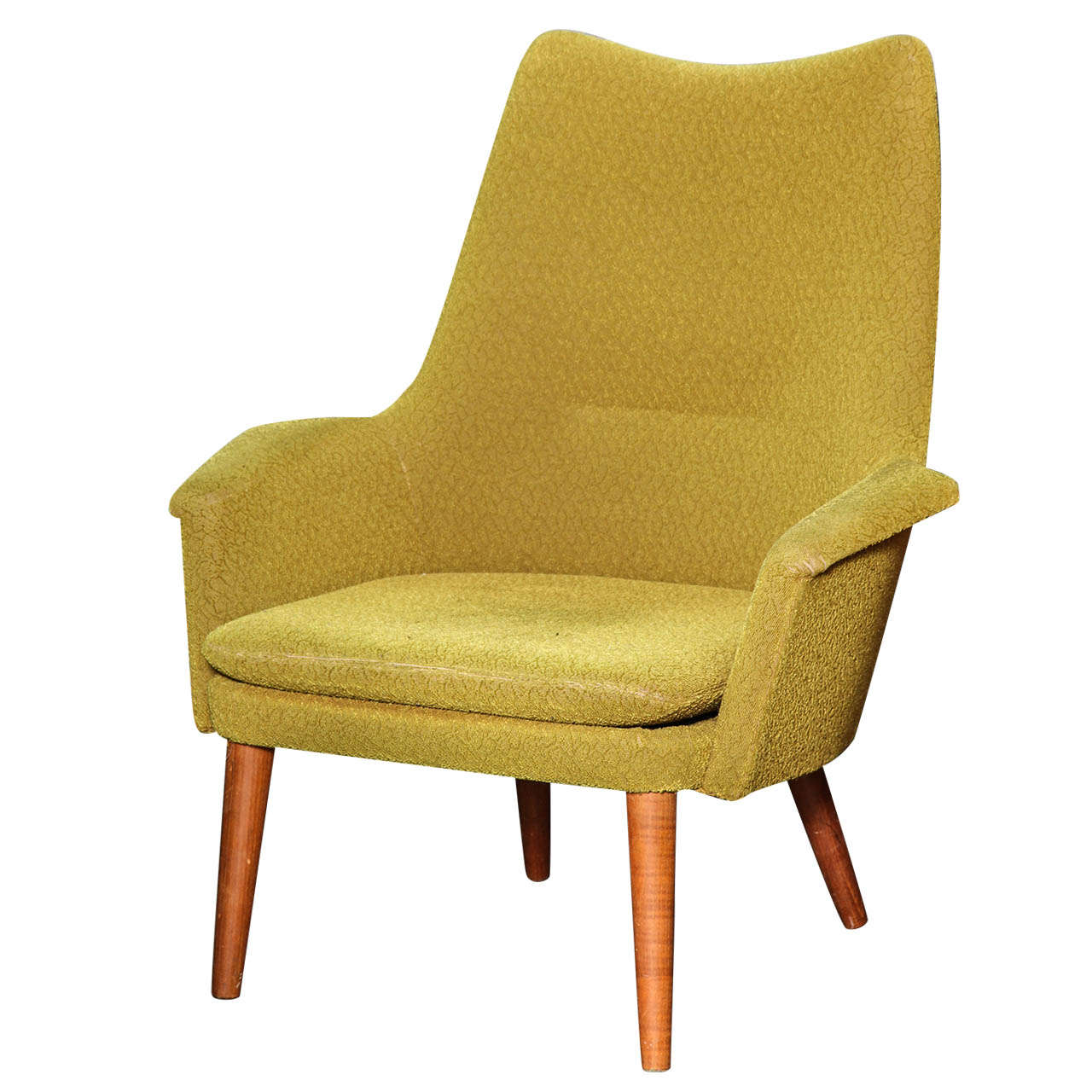 Image of: Vintage Danish Lounge Chair