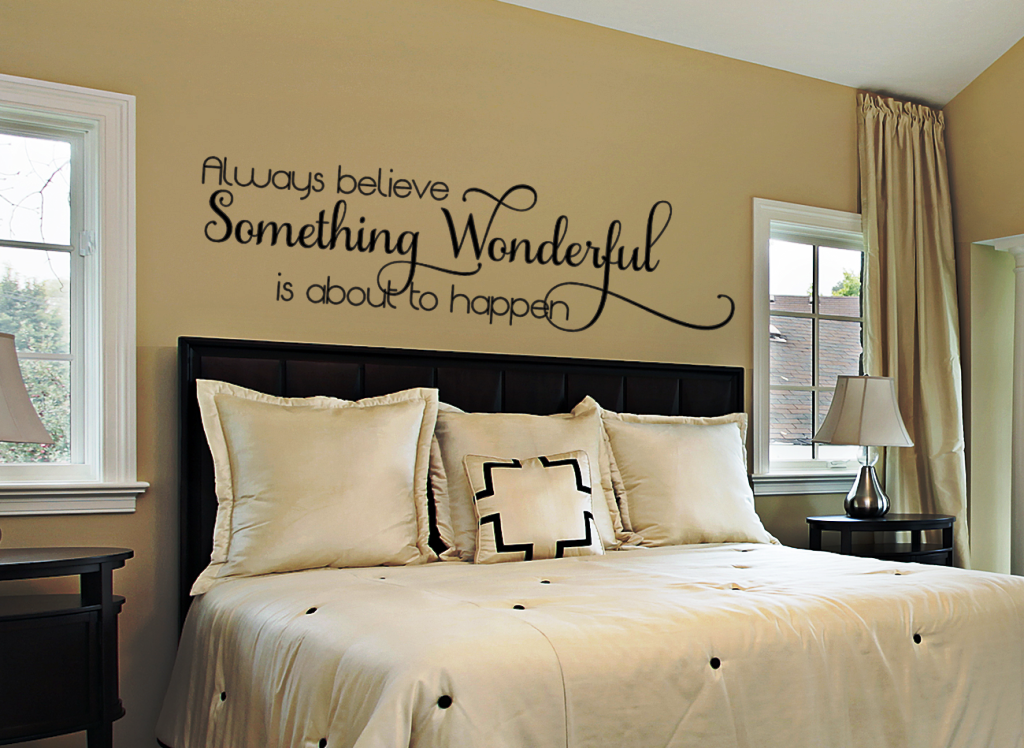 Image of: Wall Stickers For Bedrooms Interior Design Price