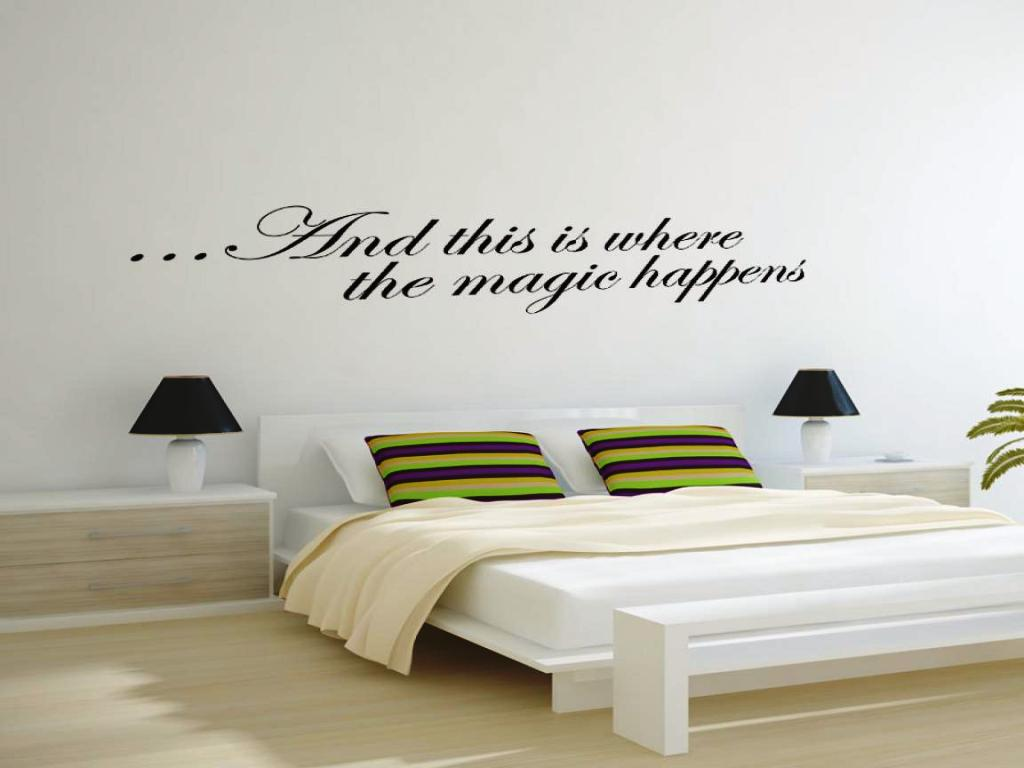 Image of: Wall Stickers For Bedrooms Interior Design