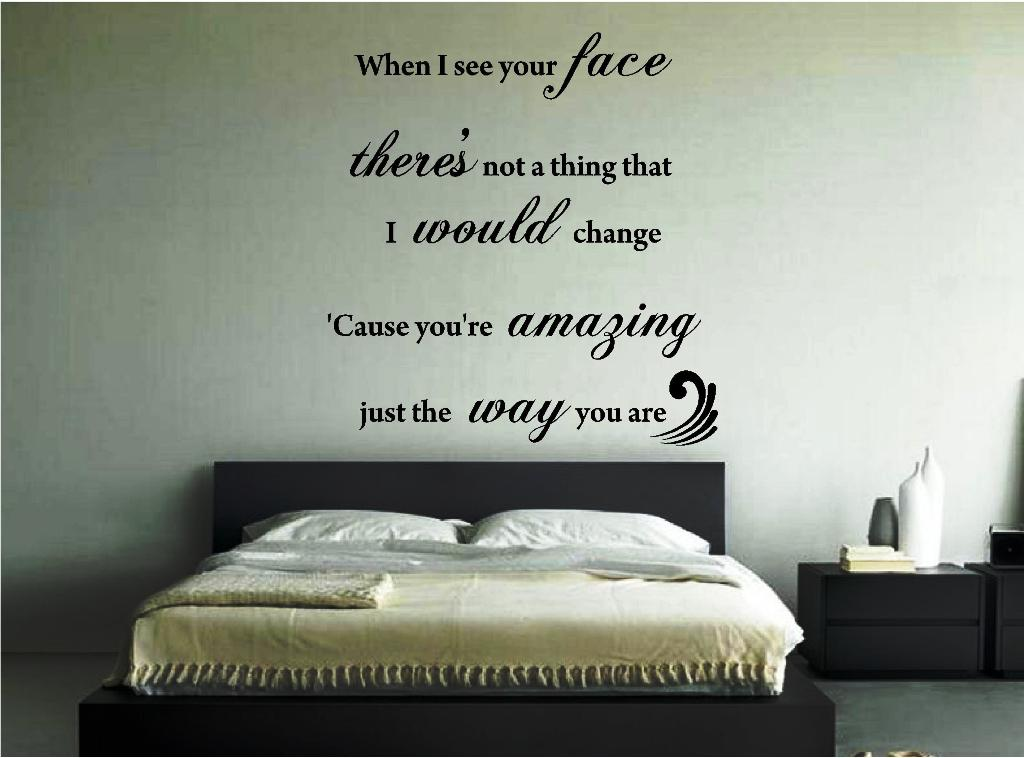 Image of: Wall Stickers For Bedrooms Michaels