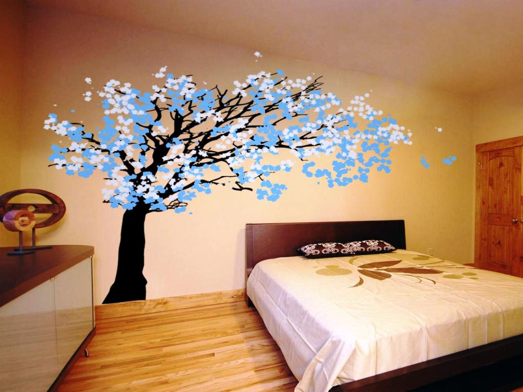 Image of: Wall Stickers For Bedrooms Target