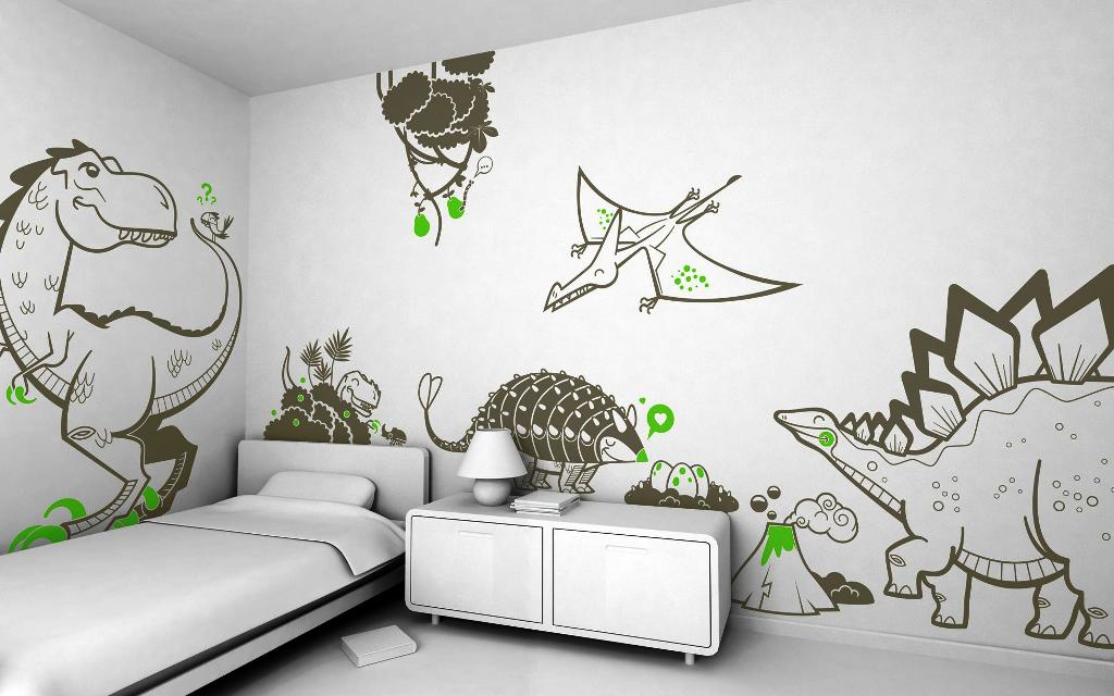 Image of: Wall Stickers For Bedrooms Uk