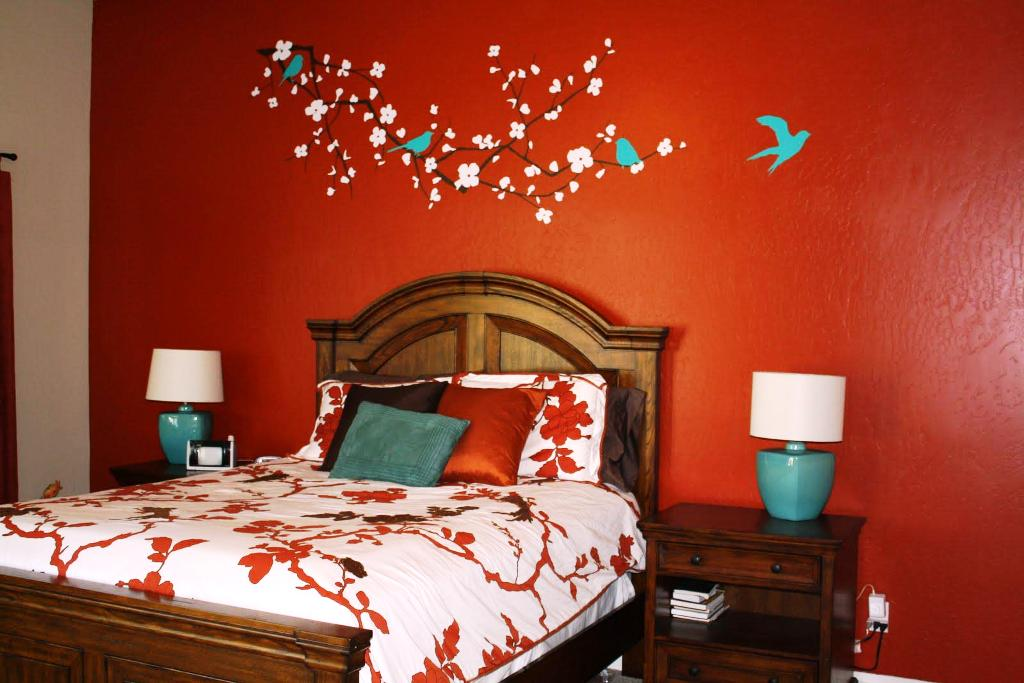 Image of: Wall Stickers For Bedrooms Walmart