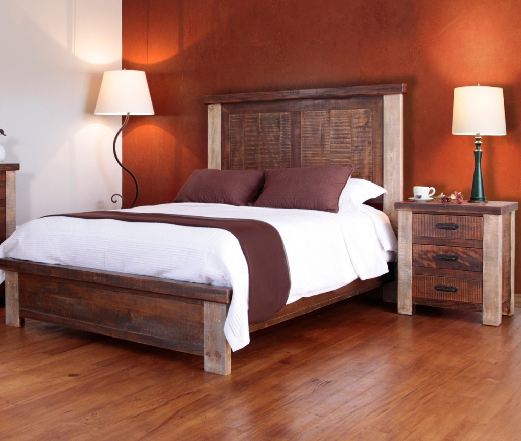 Image of: Western Bedroom Furniture Houston