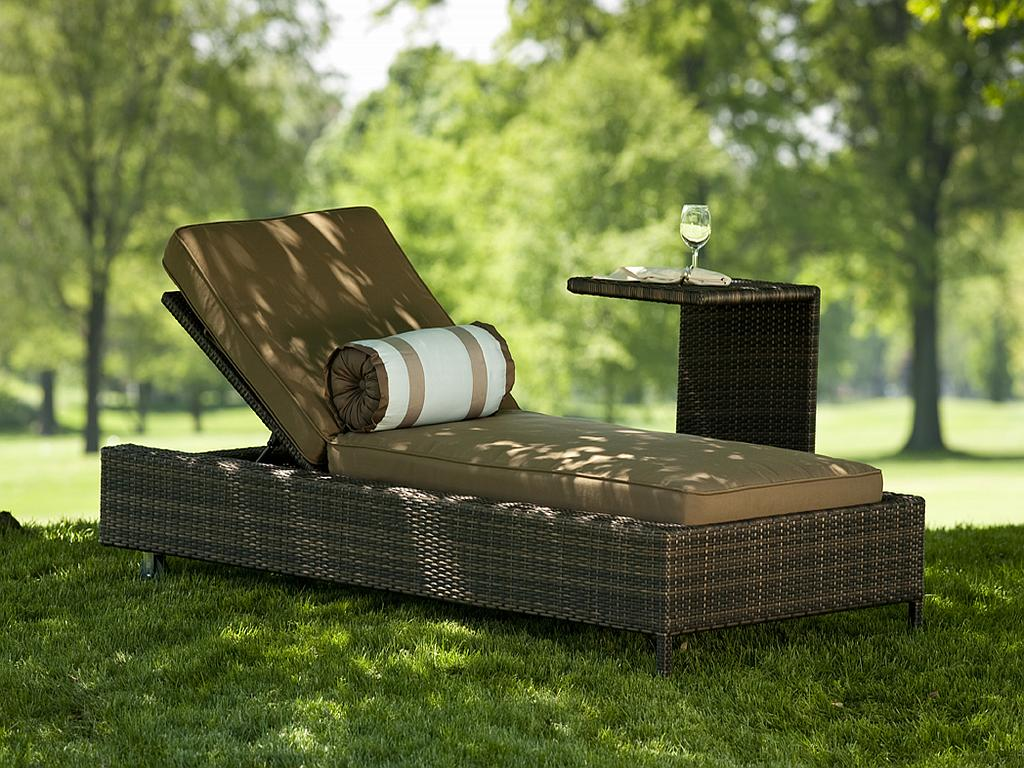 Image of: Wicker Lounge Chair Ideas