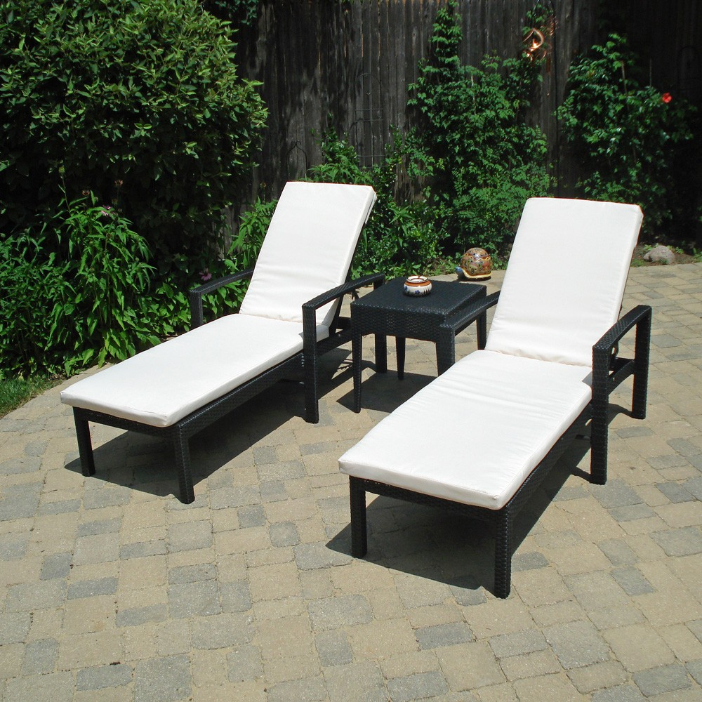 Image of: Wicker Lounge Chair Image
