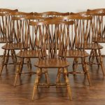 Windsor Dining Chairs Maple