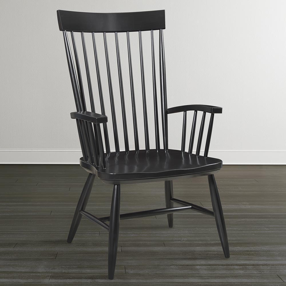 Image of: Windsor Dining Chairs with Arms