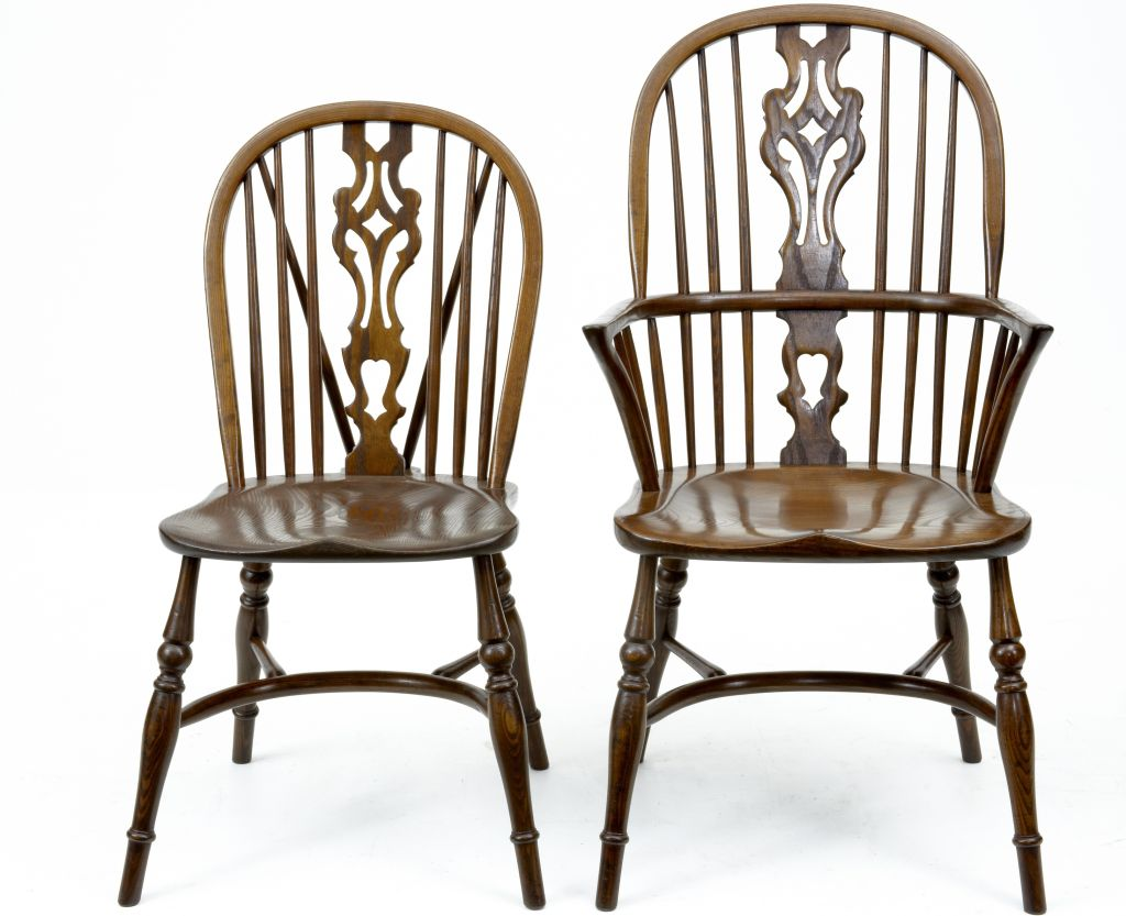Image of: Windsor Dining Chairs