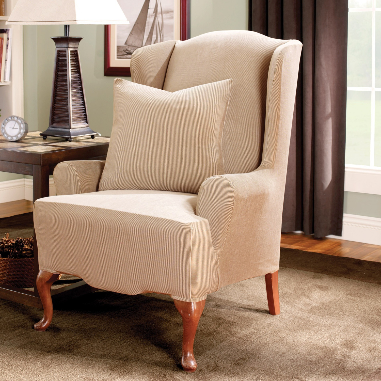 Image of: Wing Chair Recliner Furniture