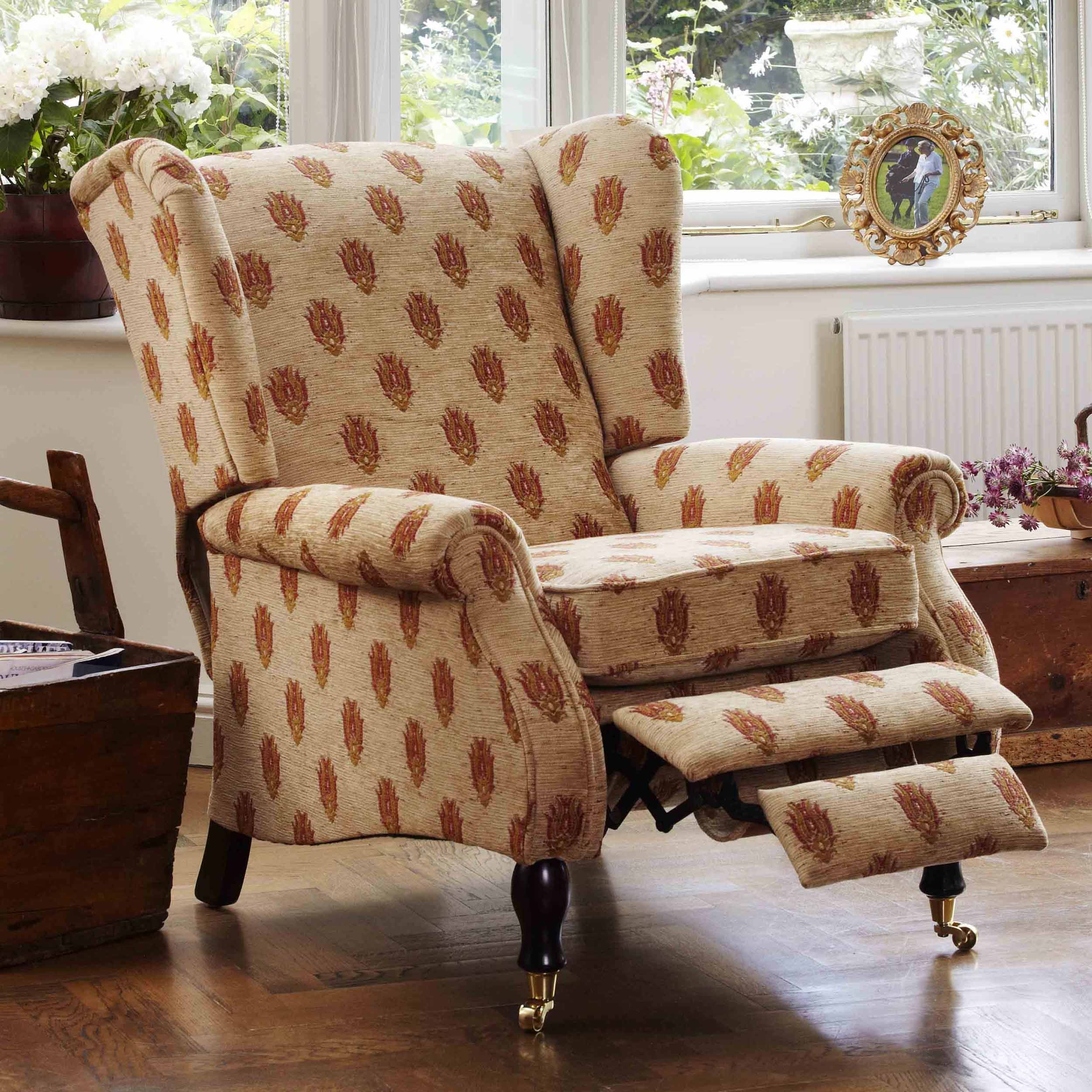 Wing Chair Recliner Style