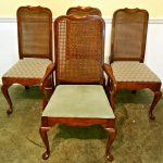 Wonderful Cane Back Dining Chairs