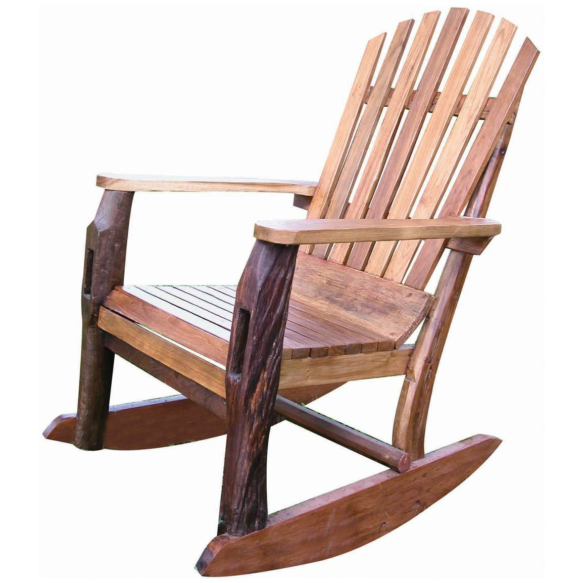 Wooden Adirondack Rocking Chair Ideas