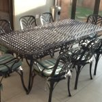 Wrought Iron Patio Chairs Feet Glides