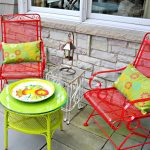 Wrought Iron Patio Furniture Colors
