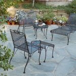 Wrought Iron Patio Furniture Sets Chaise