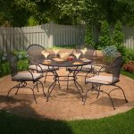 Wrought Iron Patio Furniture Sets Dining