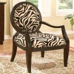Zebra Accent Chair Photo
