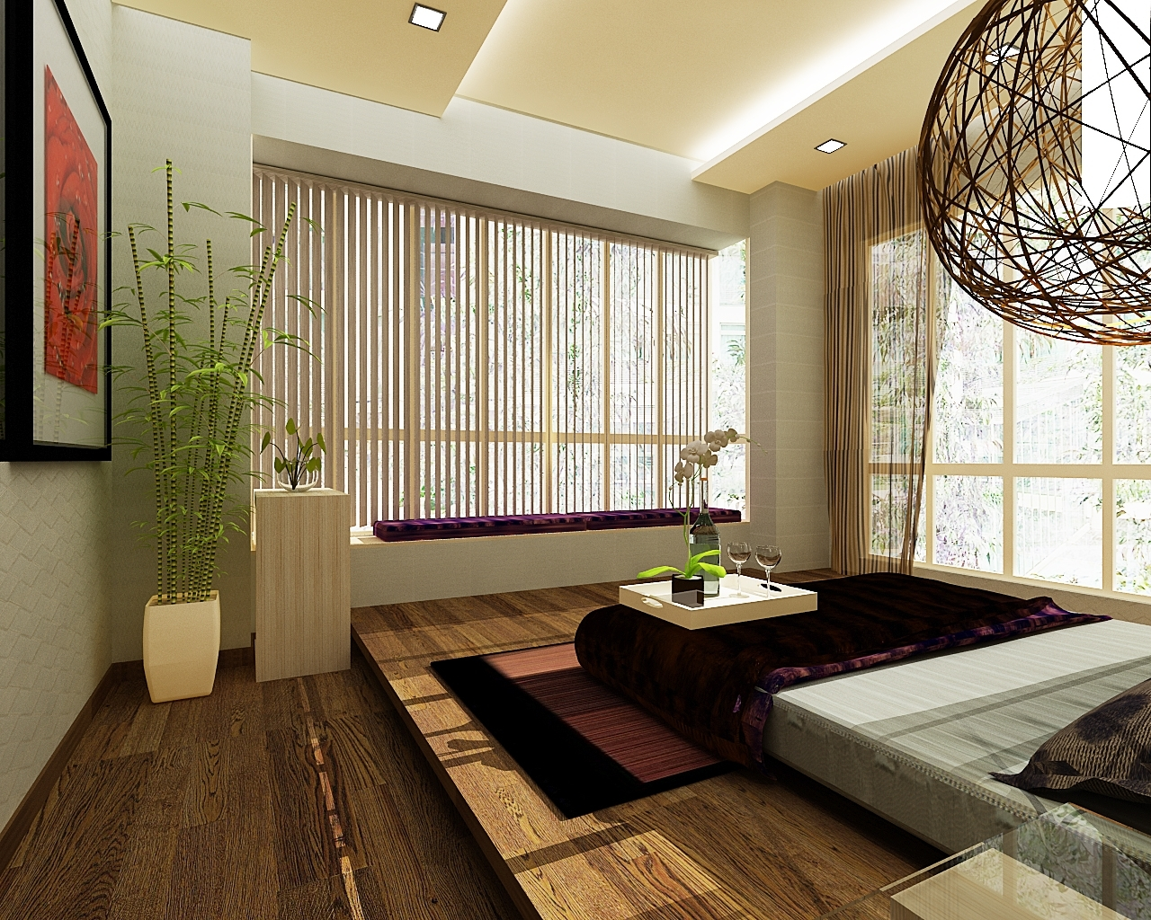 Image of: Exclusive Zen Bedrooms