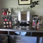 3 Piece Mirrored Vanity Set