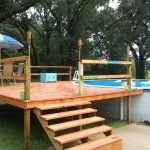 Above Ground Swimming Pool Decks Style