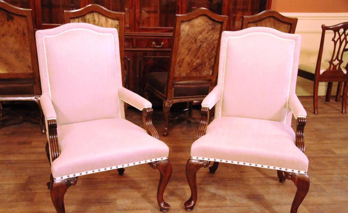 Image of: Accent Chairs With Arms White