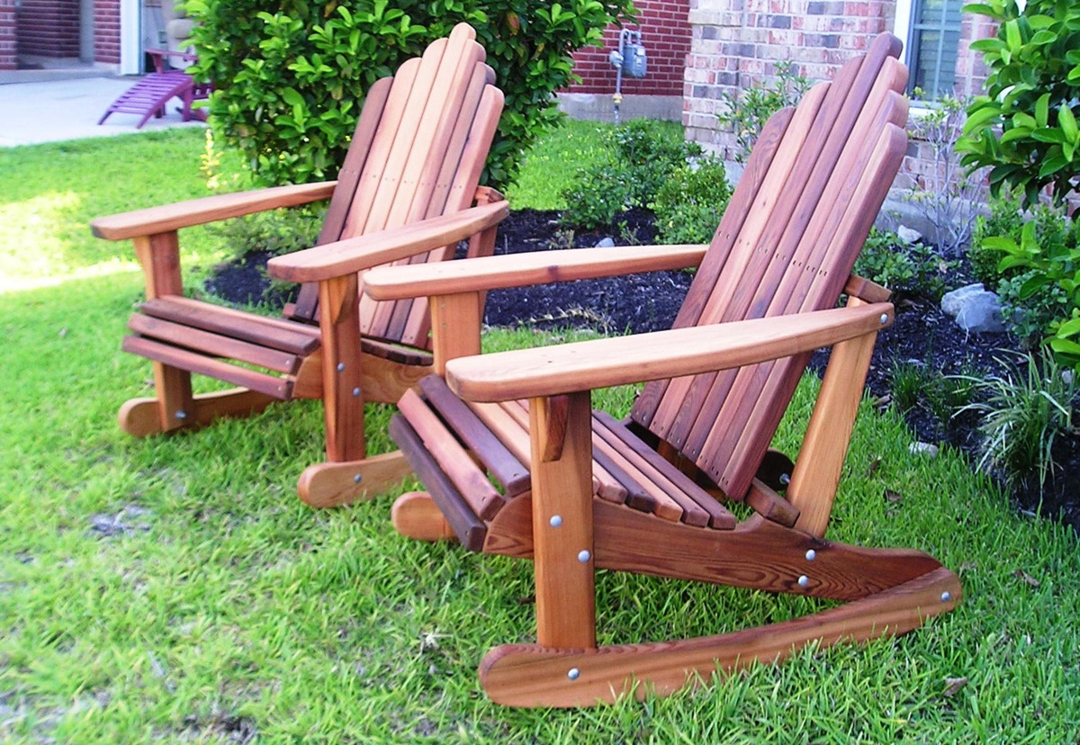 Image of: adirondack rocking chair images