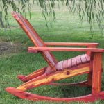 adirondack rocking chair picture