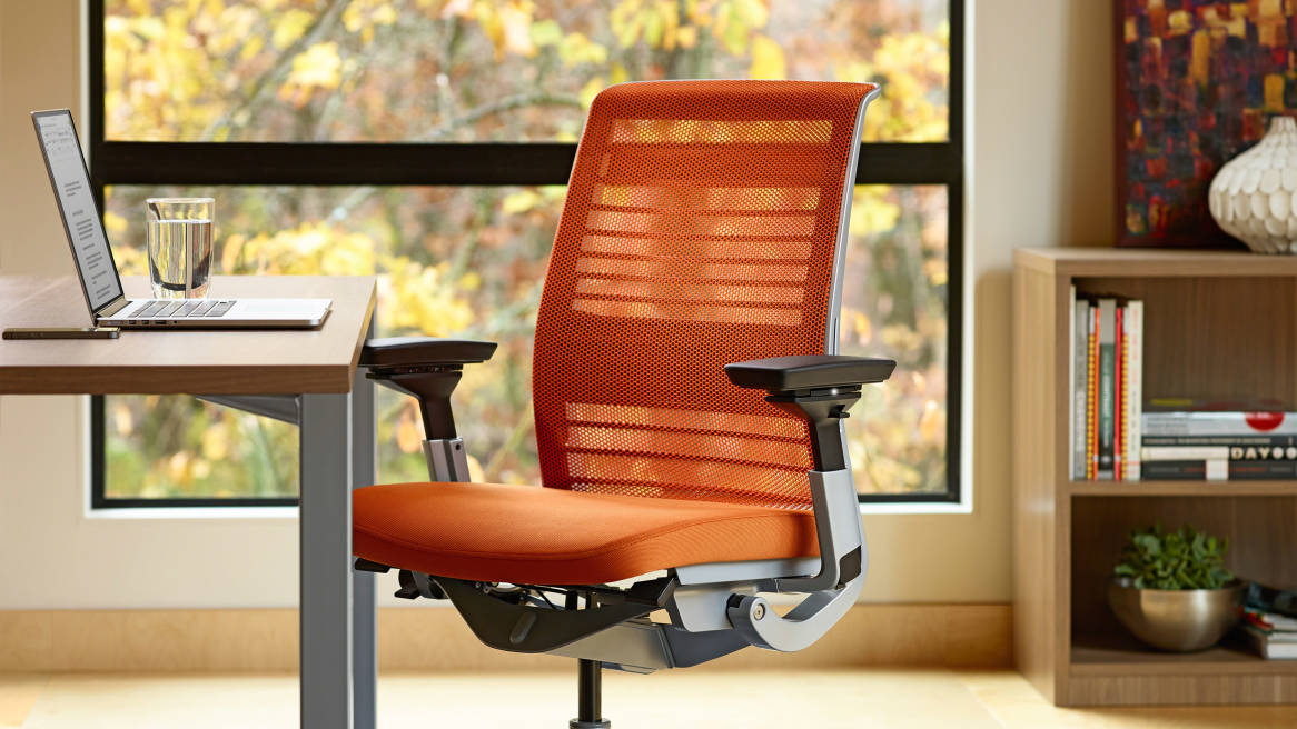 adjustable steelcase think chair