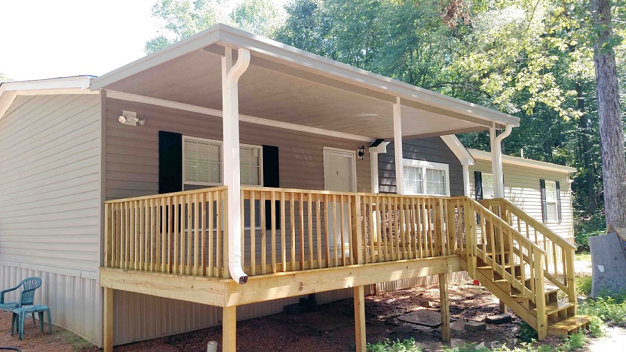 Image of: Aluminum Awnings for Decks Furniture