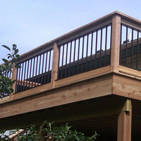 Image of: Aluminum Deck Balusters Bulk