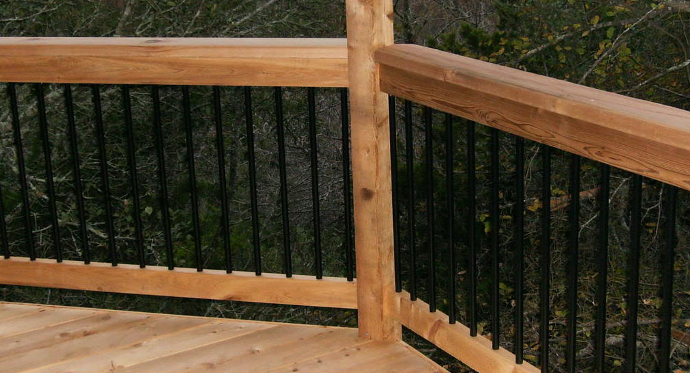 Aluminum Deck Balusters Face Mount