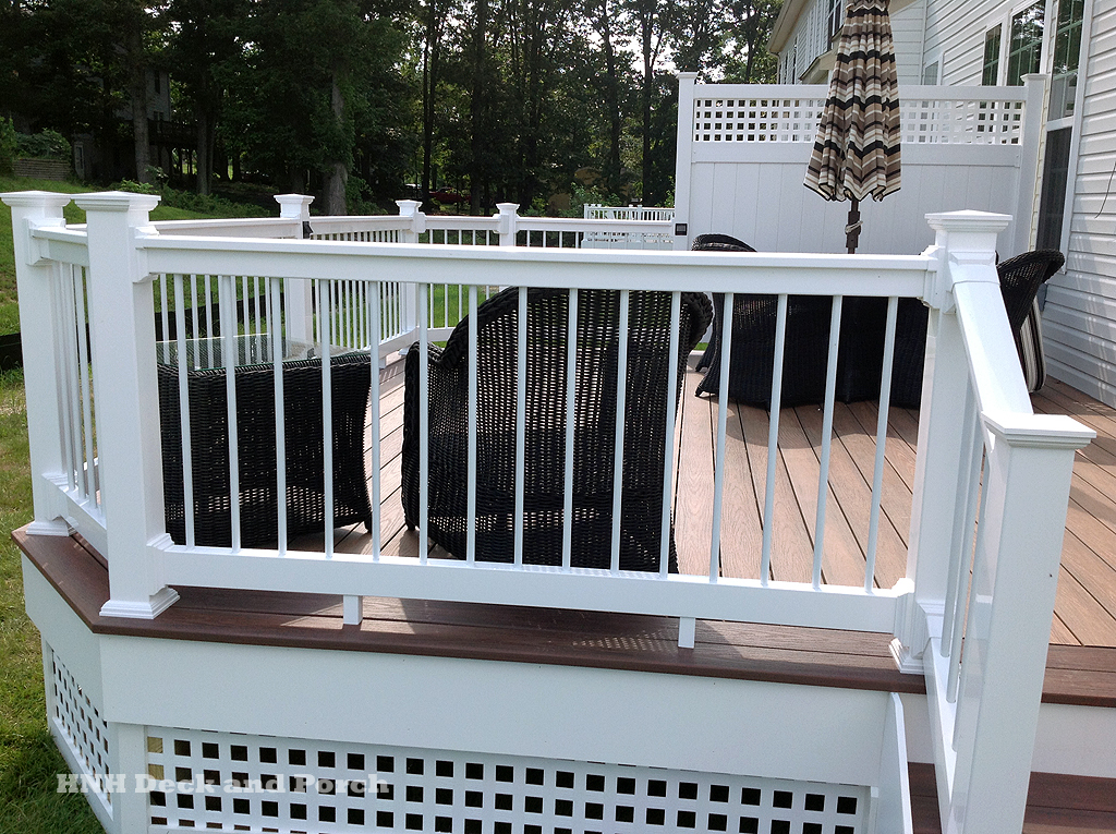 Image of: Aluminum Deck Railing Accessories
