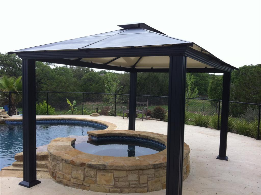 Image of: Aluminum Gazebo Kits for Sale
